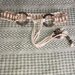 5/20 VTG Woven Strap Belt